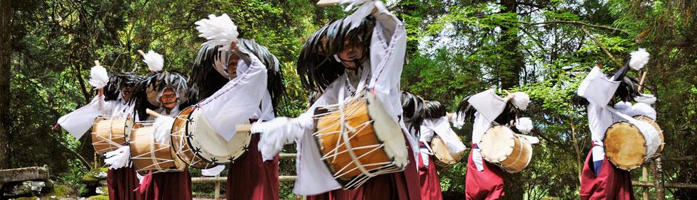 久連子古代踊り